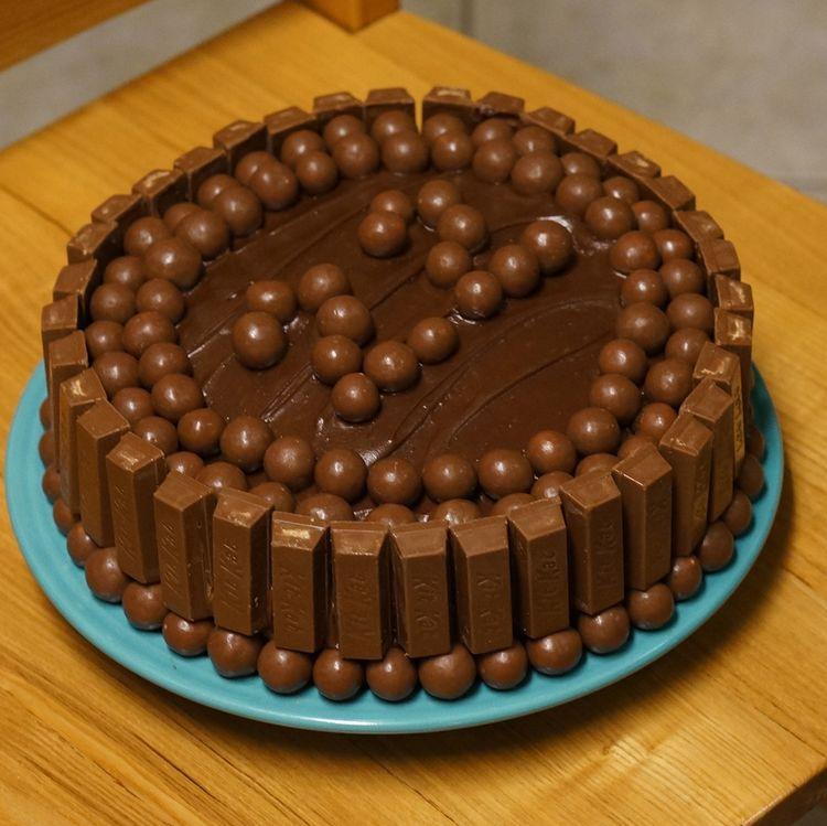 22th Chocolate Birthday Cake