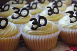 30th birthday cheesecake cupcakes