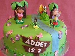 Dora cake for Addey