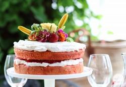 Amazing rhubarb cake