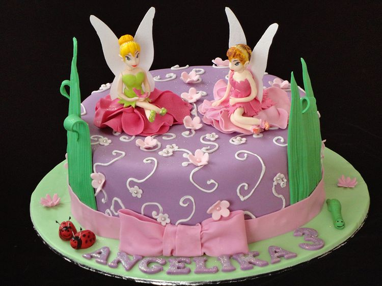 tinkerbell cake for angelica