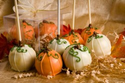 Beautiful Halloween cake pops