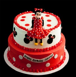 Birthday Minnie cake