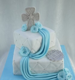 Cake for baptism celebration