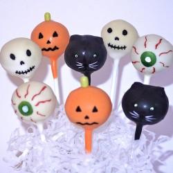 Cake pop for Halloween