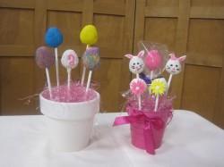 Cake pops Easter