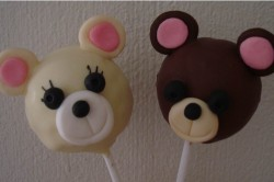 Cake pops Teddy Bear