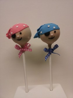 Cake pops pirate