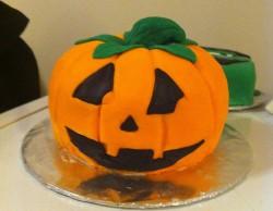 Cake pumpkin