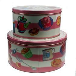 Cake tins
