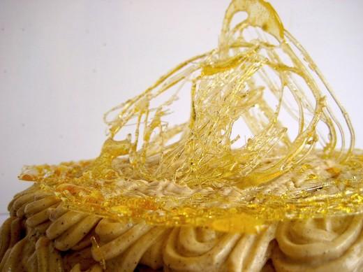 Caramel craft cake