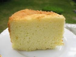 Chiffon cake piece
