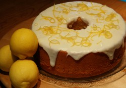 Chiffon cake with layer