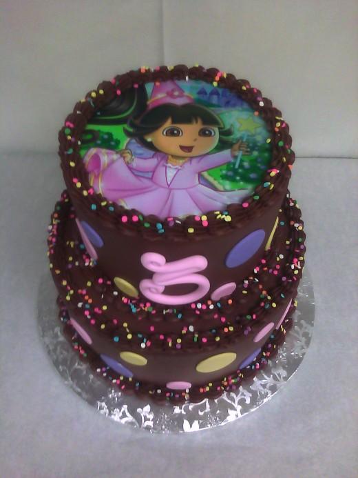 Chocolate Dora cake