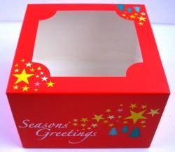 Christmas cake box