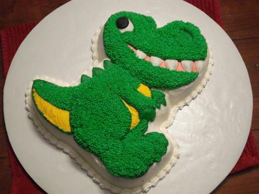 Dinosaur Cake For Kids