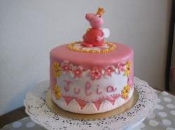 Peppa pig cake for Julia