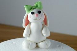 Bunny cake for Julie