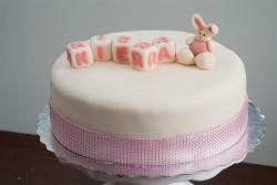 Bunny cake for Kiera