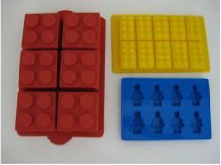 Lego cake mold