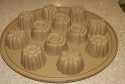 Lemon tea cakes mold