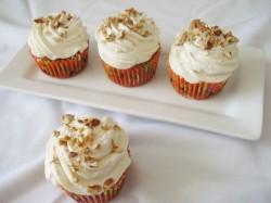 Maple pumpkin cupcake
