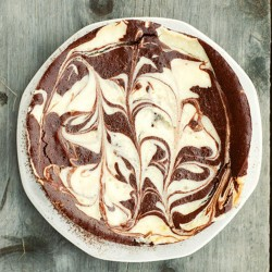 Marble chease cake