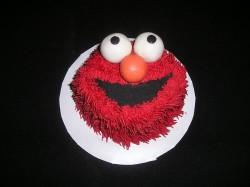 Mini Elmo cake