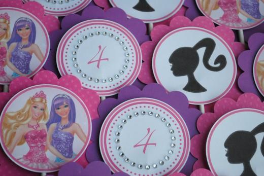 Princess birthday cupcakes