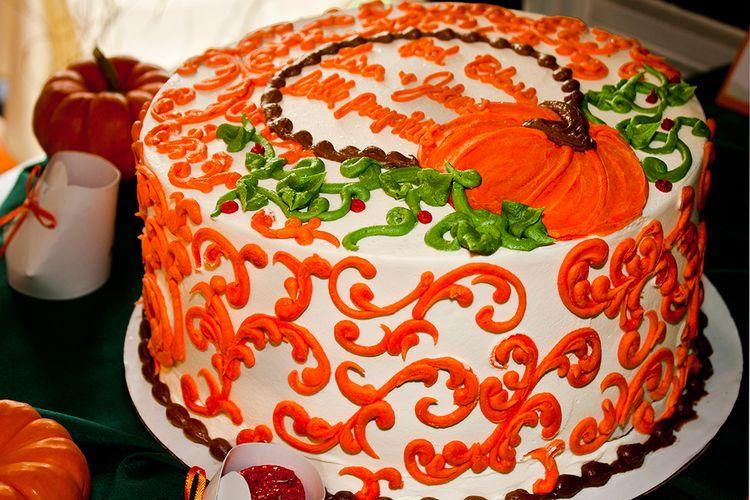 Pumpkin Themed Cake Ideas