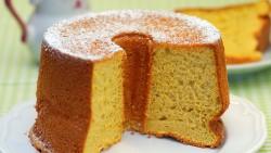 Soft chiffon cake