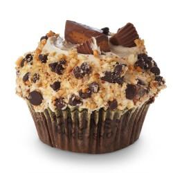 Tasty crumbs cupcake