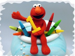 Birthday Elmo cake