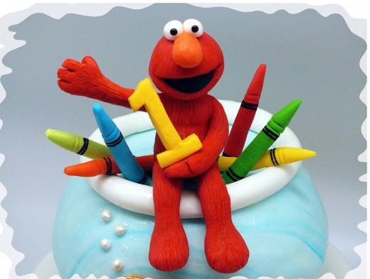 Birthday Elmo cake