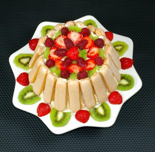 Fruit's cake
