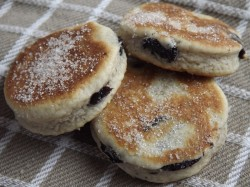 Blueberry Welsh cookies