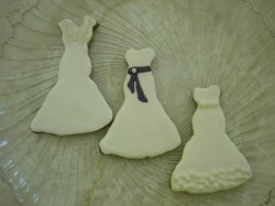 Bride wedding cookies