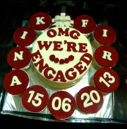 Cake for engagement