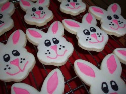 Holiday Bunny cookies