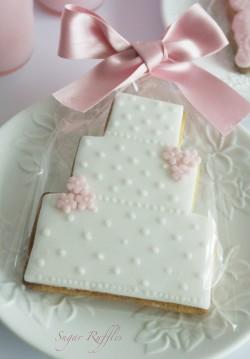 Wedding biscuit