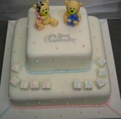 Cake Ideas For Boy And Girl : Carousel Christening cake
