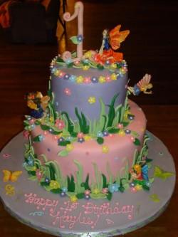 2 tier fairy cake