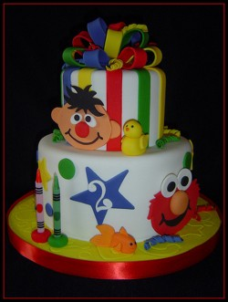 2nd Birthday Elmo cake