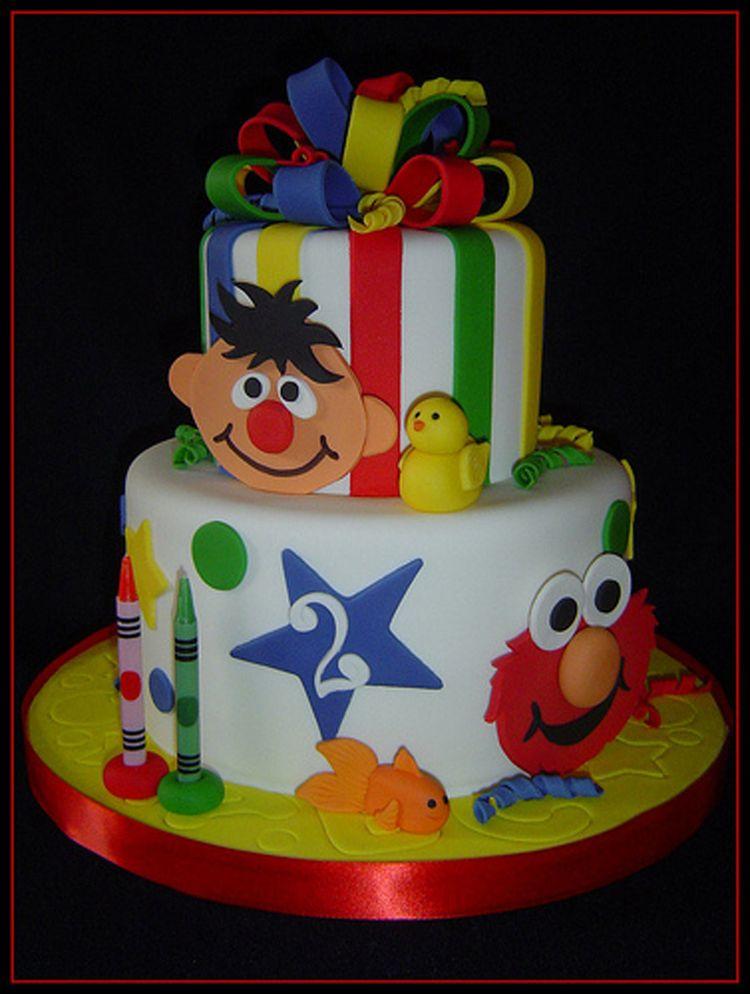 2nd Birthday Elmo cake