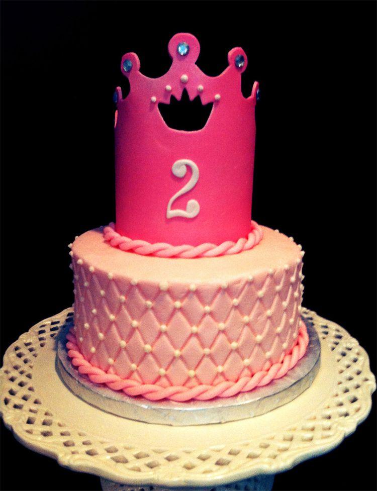 2nd Princess Birthday Cake