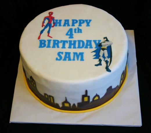 4th birthday cricut cake
