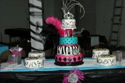 Amazing fondant quinceanera cake