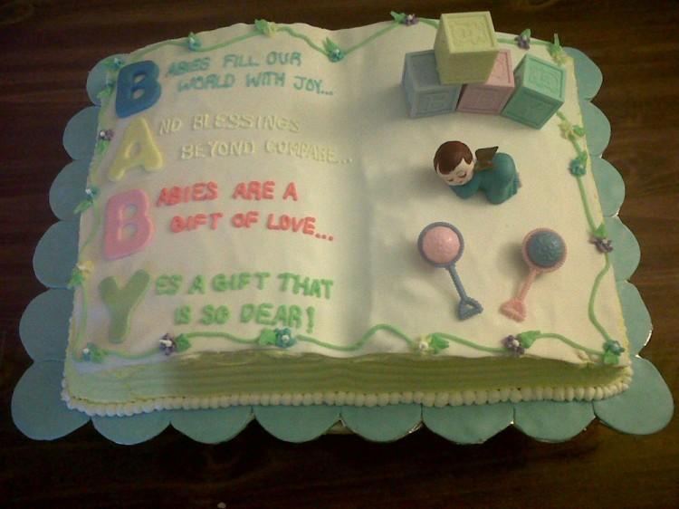 Baby Shower Cake Book