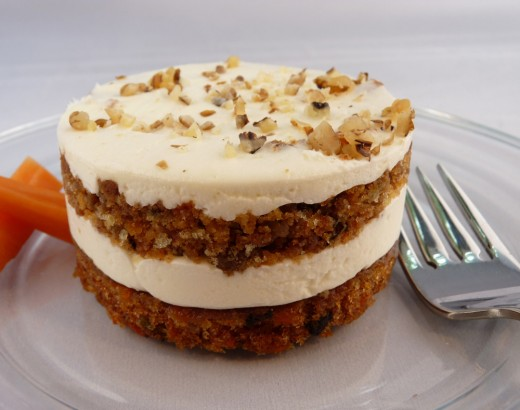 Beautiful mini carrot cake