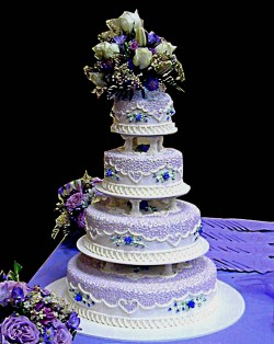 Beautiful quinceanera cake